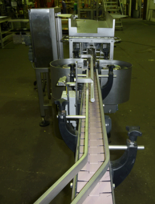 End view of an Inverter Conveyor