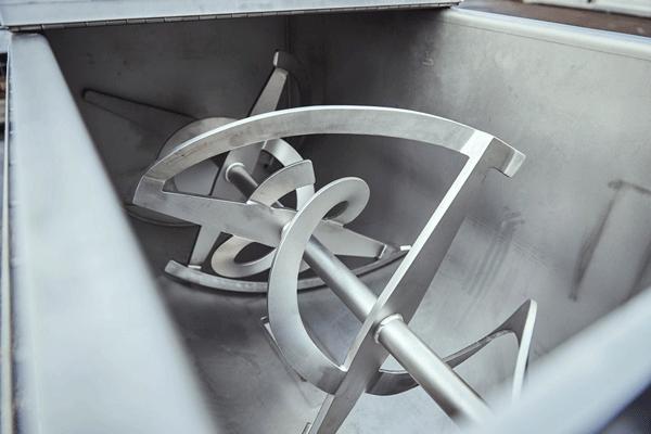 Ribbon Blender application added to Foodmek mixing vessels