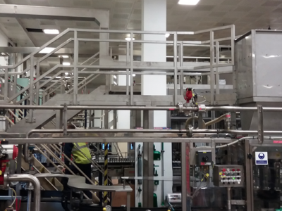 Stainless Steel Access Platforms