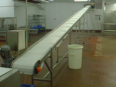 Elevator Conveyors to oven