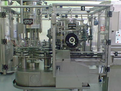 tangential rotary piston filling machines